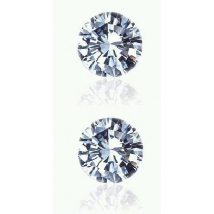 0.10 Ct. Set of 2 Round Brilliant Diamonds In Gift Packing
