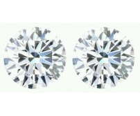 0.50 Ct. Set of 2 Round Brilliant Diamonds In Gift Packing