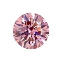 0.01 Ct. Natural Fancy Pink Round Brilliant Diamond In Gift Packing