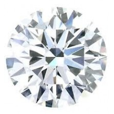 0.10 Ct. Round Brilliant Diamond In Gift Packing