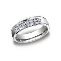 0.49 Ct. Diamond Band Ring With Round Brilliant Diamonds