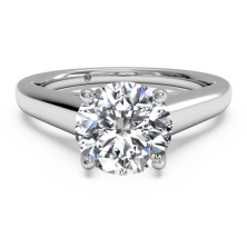 3.02 Ct. Solitaire Diamond Ring in 4 Prong Setting