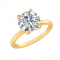 1.00 Ct. Solitaire Diamond Ring in 4 Prong Setting