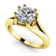 1.00 Ct. Solitaire Diamond Ring in 8 Prong Setting