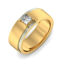 0.70 Ct. Solitaire Diamond Band Ring in Prong Setting