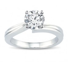 0.80 Ct. Solitaire Diamond Ring in 4 Prong Setting