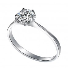 0.90 Ct. Solitaire Diamond Ring in 5 Prong Setting