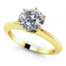 2.50 Ct. Solitaire Diamond Ring in 6 Prong Setting