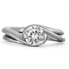 0.60 Ct. Solitaire Diamond Ring in 2 Prong Setting