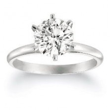 1.00 Ct. Solitaire Diamond Ring in 6 Prong Setting