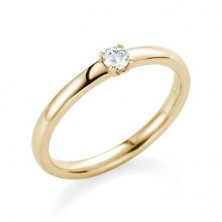 0.25 Ct. Solitaire Diamond Ring in 4 Prong Setting