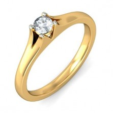 0.40 Ct. Solitaire Diamond Ring in 4 Prong Setting