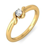 0.40 Ct. Solitaire Diamond Ring in 2 Prong Setting