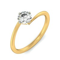 0.70 Ct. Solitaire Diamond Ring in 4 Prong Setting