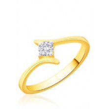0.20 Ct. Solitaire Diamond Ring in 4 Prong setting