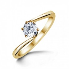 0.30 Ct. Solitaire Diamond Ring in 6 Prong setting