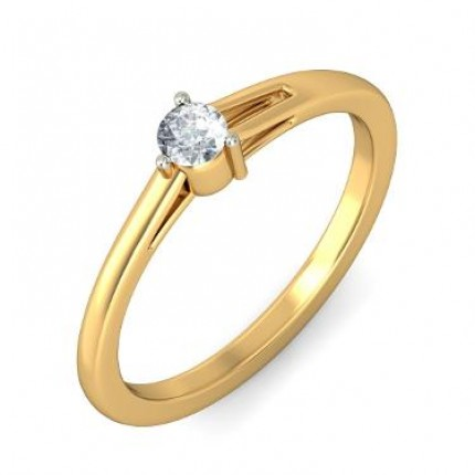0.40 Ct. Solitaire Diamond Ring in 3 Prong Setting