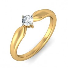 0.82 Ct. Solitaire Diamond Ring in 4 Prong Setting