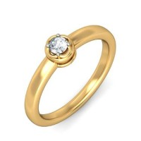 0.50 Ct. Solitaire Diamond Ring in 4 Prong Setting