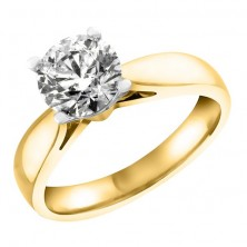 1.05 Ct. Solitaire Diamond Ring in 4 Prong Setting