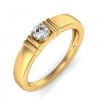 0.75 Ct. Solitaire Diamond Ring in 4 Prong Setting With 2 Side Bars on Each side