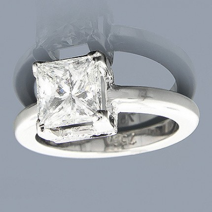 1.30 Ct. Solitaire Diamond Ring in 4 Prong Setting
