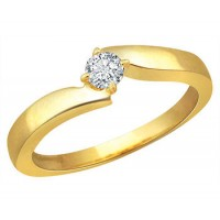 0.30 Ct. Solitaire Diamond Ring in 4 Prong Setting