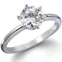 0.60 Ct. Solitaire Diamond Ring in 6 Prong Setting