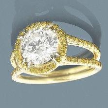 1.50 Ct. Solitaire Diamond Ring in 8 Prong Setting