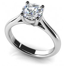 1.25 Ct. Solitaire Diamond Ring in 4 Prong Setting