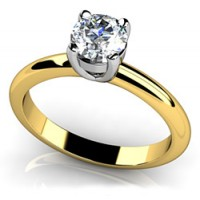 0.85 Ct. Solitaire Diamond Ring in 4 Prong Setting