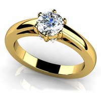 0.80 Ct. Solitaire Diamond Ring in 6 Prong Setting