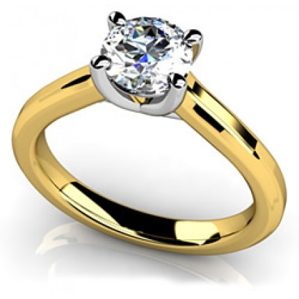 0.90 Ct. Solitaire Diamond Ring in 4 Prong Setting