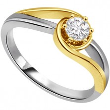 0.40 Ct. Solitaire Diamond Ring in 6 Prong Setting