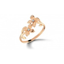 Leaf Shape Diamond Ring