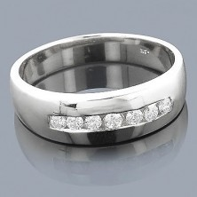 7 Diamond Band Ring