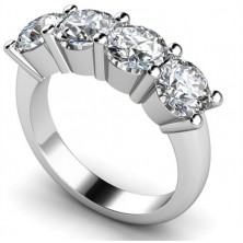 1.60 Ct. Harmony 4 Diamond Ring