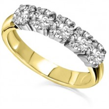 Harmony 5 Diamond Ring