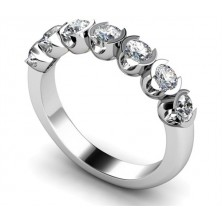 1.40 Ct. Harmony 7 Diamond Ring