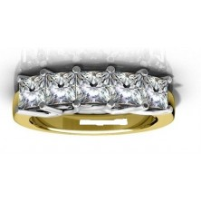 2.00 Ct. Harmony 5 Diamond Ring